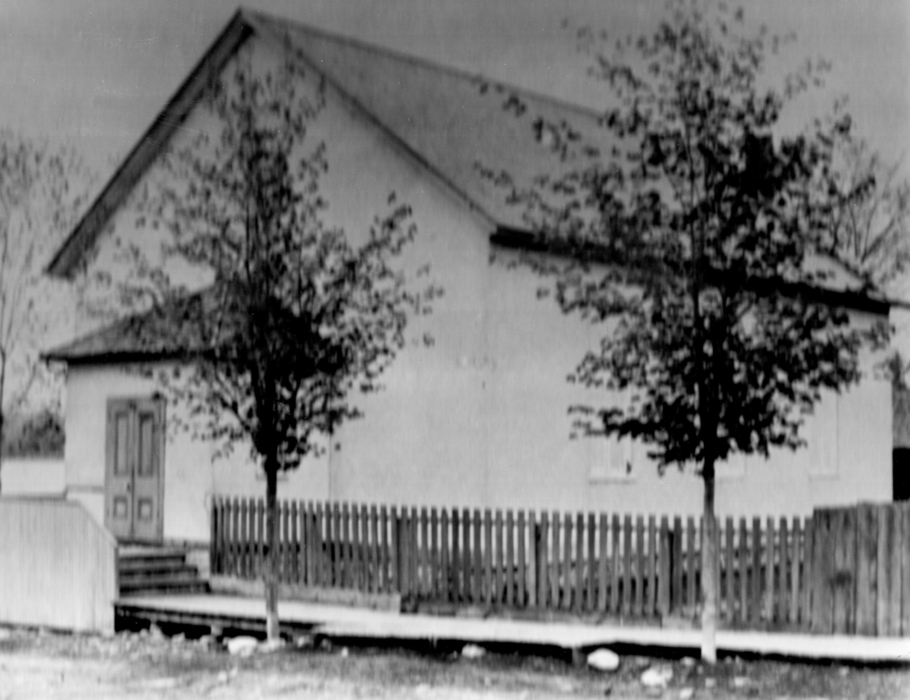 Old Picture of the Church